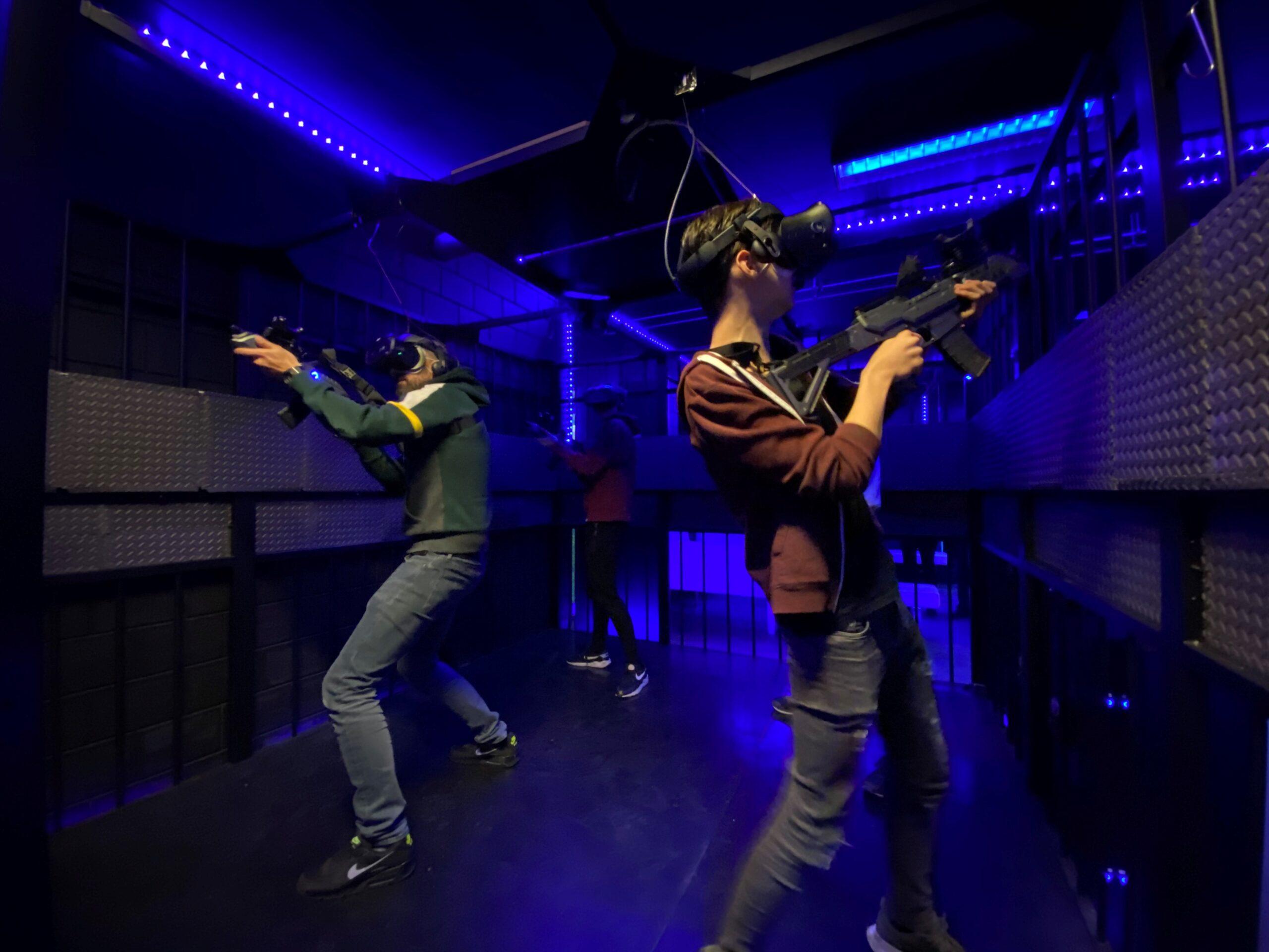 VR Almere arcade speelhal experience voor een kinderfeestje of kinderuitje dichtbij Hilversum, Amsterdam, Utrecht, Gooi, Amersfoort en Lelystad